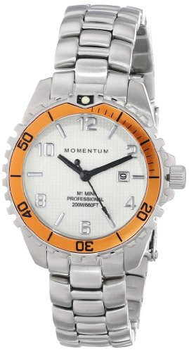 Momentum Womens Quartz Watch, Analogue Classic Display and Stainless Steel Strap 1M-DV07WO0