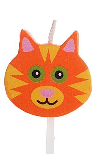 Geburtstagskerzen / Tortenkerzen: Buchstaben, Zahlen & Symbole (Katze)