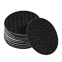 Pack 5 Anti-Slip Mat Fixing Multi-Purpose Reusable Non-Slip Furniture Pad Grippers Slide Stickers Round Floor Carpet