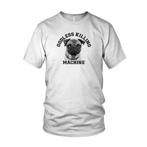 Godless Killing Machine - Herren T-Shirt Weiß