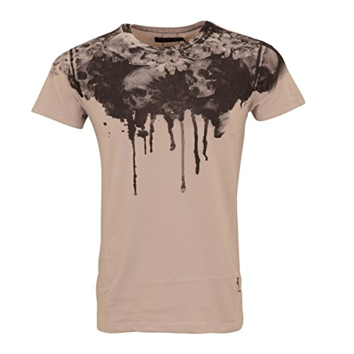 RELIGION Sonne Blume Bedruckte T-Shirt Asche Rosen Pink