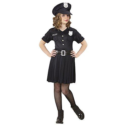 Widmann 65558 Kinderkostüm Polizistin, Girls, 158 -