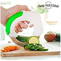 Always Fresh Kitchen Chop & Roll Cuchillo, Blanco, 3 x 15 x 14,5 cm
