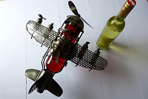 Weinflaschenhalter aus Edelstahl