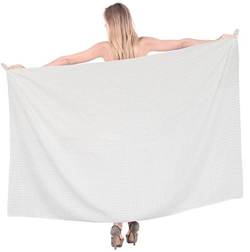 bikini-coverup-wrap-bathing-resort-ladies-sarong-beachwear-swimwear-swimsuit-chex-white-gift-spring-