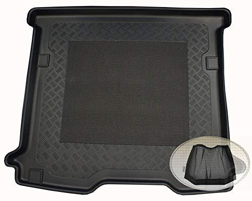 ZentimeX Z3033456 Antirutsch Kofferraumwanne fahrzeugspezifisch + Klett-Organizer (Laderaumwanne, Kofferraummatte)