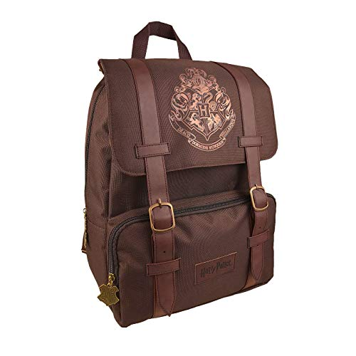 Groovy Zaino Flap Over Backpack Harry Potter, Unisex Bambini, (Multicolore), 28x37x14 cm (W x H x L)