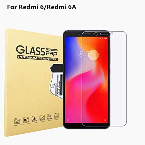RUIST Xiaomi Redmi 6A / Redmi 6 Schutzfolien,9H Panzerglas Folien Glas Panzerfolie Schutzglas für Xiaomi Redmi 6A / Redmi 6