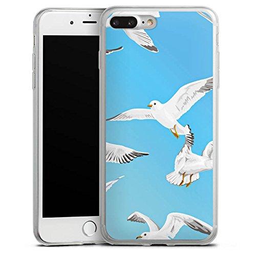 Apple iPhone X Slim Case Silikon Hülle Schutzhülle Vogel Möve Vögel Silikon Slim Case transparent