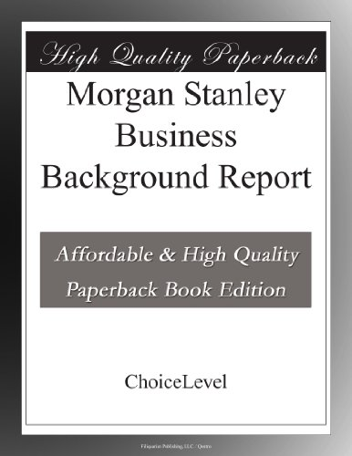 morgan-stanley-business-background-report