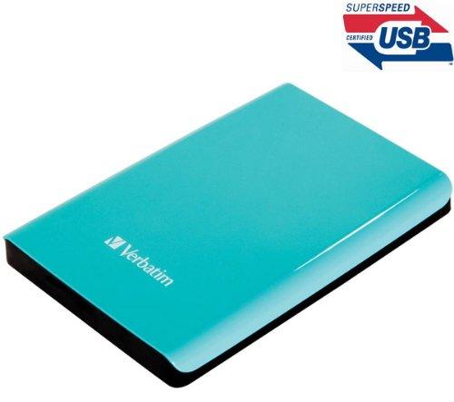 Verbatim 53171 externe Festplatte (6,4 cm (2,5 Zoll), 5400rpm, USB 3.0) blau