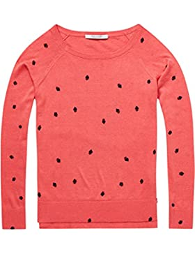 Scotch & Soda Long Sleeve Pull with Various Allover Prints, suéter para Mujer