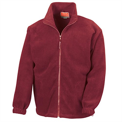 Result Herren Jacke Polartherm(TM) Jacket Burgundy