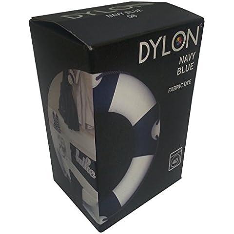 Dylon - Tinte para tejidos a máquina (200 g), color azul oscuro