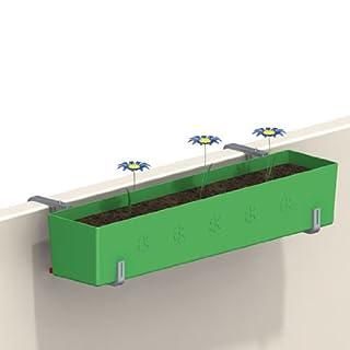 Blumenkastenhalter mit Superstütze, Tiefe stufenlos verstellbar