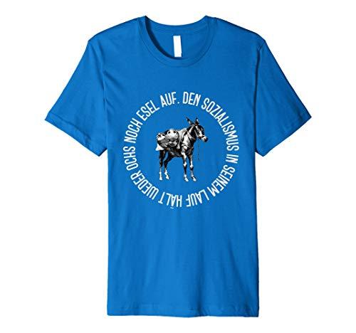 DDR T-Shirt | Den Sozialismus In Seinem Lauf Hält Weder Ochs