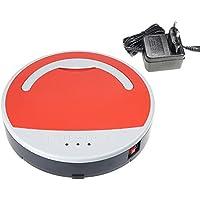 Vinteky®Robot Aspirador Autónomo Inteligente con 3 Programas de Tiempo de Limpieza ...