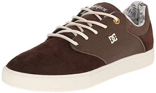 DC Men's Mikey Taylor SE Skate Shoe, Chocolate/Cream, 10 M US Chocolate/Cream