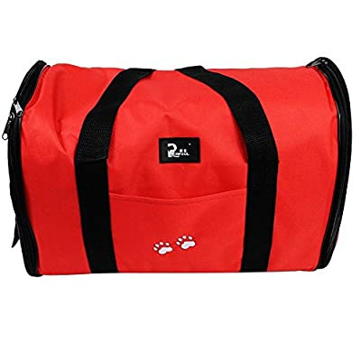 Oxford Cloth Pet Carrier Bag Dog Cat Bag Foldable Pet Travel Carrier Ideal for Puppy, Cat, Rabbit and Other Small Animals from Imurz