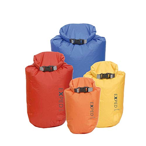 Exped Fold Dry 4 Pack Drybag - Assorted - One Size