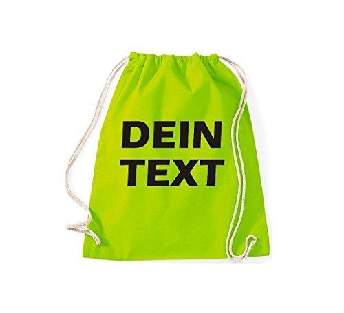 shirtstown Borsa Palestra con testo dotato ideale per tutte LA QUALCOSA ORIGINALE ricerca Lime