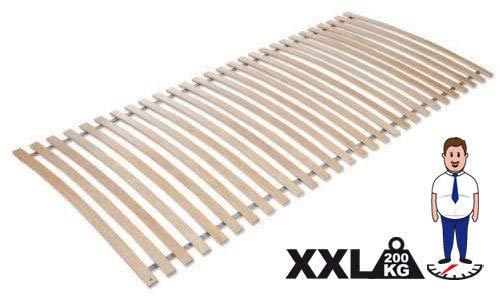 Jekatex Lattenrost, Rollrost Rahmenlos 90x200cm, 28 Latten, Birke TOP Qualität -XXL