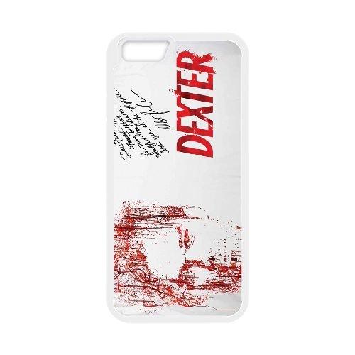 Dexter Blood coque iPhone 6 Plus 5.5 Inch Housse Blanc téléphone portable couverture de cas coque EBDXJKNBO09641