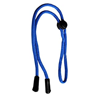 Ajetex Nylon Brillenband Brillenkordel Brillenschnur Schwarz 60cm Blau (Blau)