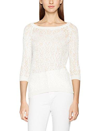 NIZZIN Francine - T-Shirt - Femme Ecru (Off White)