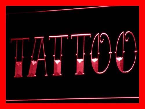 ADV PRO i550-r Tattoo Shop Bar Pub Art Piercing Neon Light Sign Barlicht Neonlicht Lichtwerbung