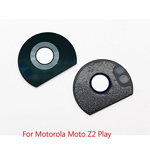 Kyrahh Back Rear Camera Glass Lens Replacement for Motorola Moto Mobile Phones (Moto Z2 Play)