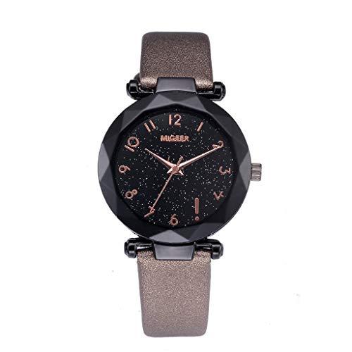 YEARNLY Collection Herren-Armbanduhr Herren Analoge Japanisch Quarzwerk 42mm Ziffernblatt Holzuhren mit Schwarz Leder Armband