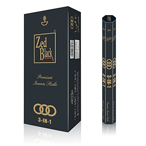 Zed-Black-3-in-1-High-Quality-Incense-Sticks-Experience-3-Pleasant-Aromas-With-These-Aroma-Sticks-Premium-Long-Lasting-90-Natural-Incense-Fragrance-Sticks-Pack-of-615-Per-Box-Aroma-Incense-Sticks