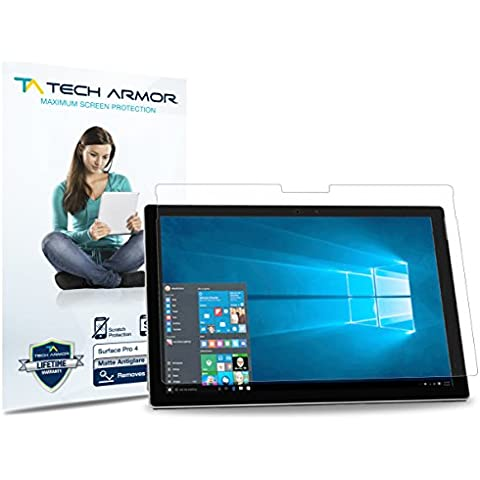 Tech Armor Anti-Glare Matte Microsoft Surface Pro 4 (2015) Screen Protector [3-Pack]