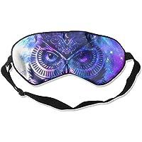 Eye Mask Eyeshade Owl Art Painting Sleeping Mask Blindfold Eyepatch Adjustable Head Strap preisvergleich bei billige-tabletten.eu