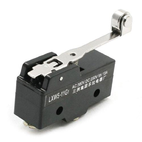 sourcing map Langer Hebel Arm Aktion Position Control Limit Switch 10A Long Roller de DE de -