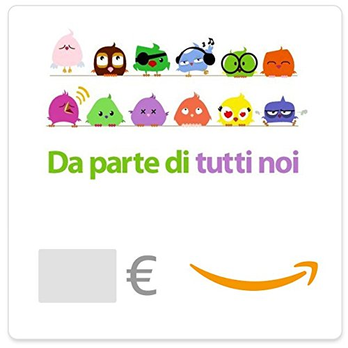 Buono regalo amazon.it - digitale - uccelli