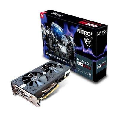 Sapphire 11265-36-20G - Tarjeta gráfica (Radeon RX 580, 4 GB, GDDR5, 256 bit, 5120 x 2880 Pixeles, PCI Express x16 2.0)