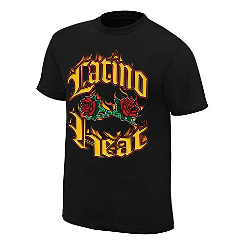 WWE Authentic Wear T-Shirt Eddie Guerrero Can You Stand The Heat - Schwarz - 3X-Groß -