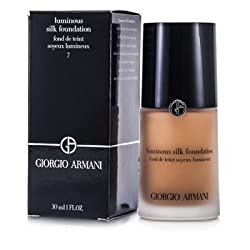Giorgio Armani Luminous Silk Foundation -  7 Tan 30ml/1oz