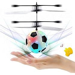 SZSMART RC Juguete Flying Ball Bola Drone helicóptero Bola Iluminación LED Incorporado Adolescentes Colorful Flyings Juguete para niños