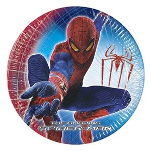 spiderman-party-teller-kindergeburtstag-pappteller-blau-rot