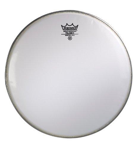Remo ks0214-00GLATT weiß falams II Marching Snare Teig Drum Head (35,6cm)