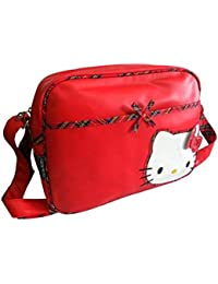 Hello kitty - Sac reporter 22.5 x 16 x 6cm - Rouge