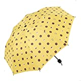 LYJZH Regenschirm, Winddichter, Stabiler Und Kompakter Großschirm, Schnell Trocken, Cartoon 8 Knochen manueller Sonnenschutzschirm colour10 98cm