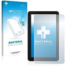 upscreen Bacteria Shield Clear - Protector de pantalla (Protector de pantalla, Woxter, Nimbus QX 102, Transparente, 1 pieza(s))