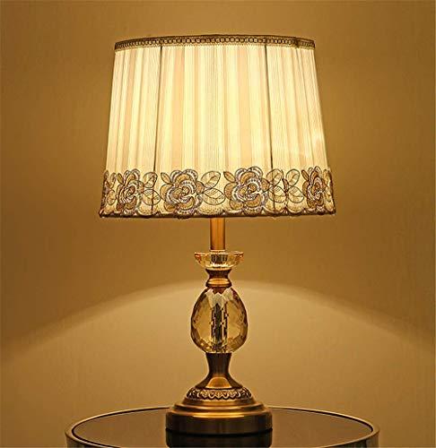 Schreibtischlampen Fabric crystal table lamp home hotel bedroom decorative cabinet headlights, C models - 115 Ge Lampen