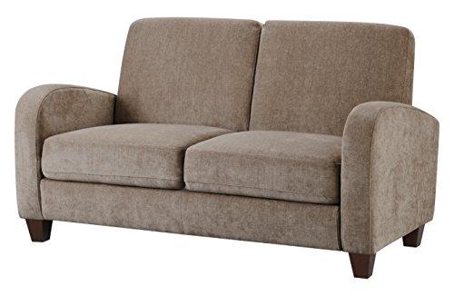 Julian Bowen Vivo 2 Seater Sofa, Fabric, Mink Chenille