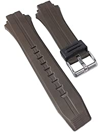Ersatzband Uhrenarmband Kautschuk Band braun passend zu Calypso K5607/4 K5607/alle