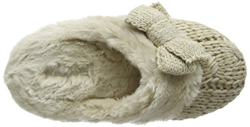 Ruby and Ed Knit, Chaussons femme Beige - Beige (Oyster)